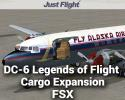 DC-6B Legends of Flight Cargo Expansion Pack for FSX