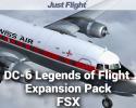 DC-6B Legends of Flight Expansion Pack for FSX