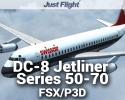 DC-8 Jetliner Series 50 to 70 for FSX/P3D