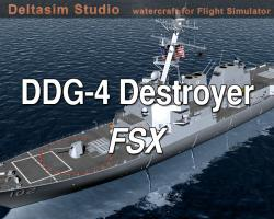 DDG-104 Destroyer for FSX