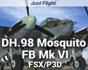 DH.98 Mosquito FB Mk VI for FSX/P3D