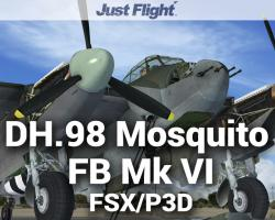 DH.98 Mosquito FB Mk VI for FSX/P3D