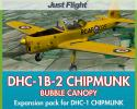 DHC-1B-2 Chipmunk Bubble Canopy Expansion for FSX/P3D