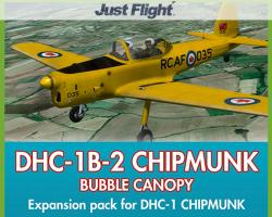 DHC-1B-2 Chipmunk Bubble Canopy Expansion