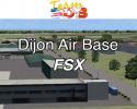 Dijon Air Base Scenery for FSX/P3D
