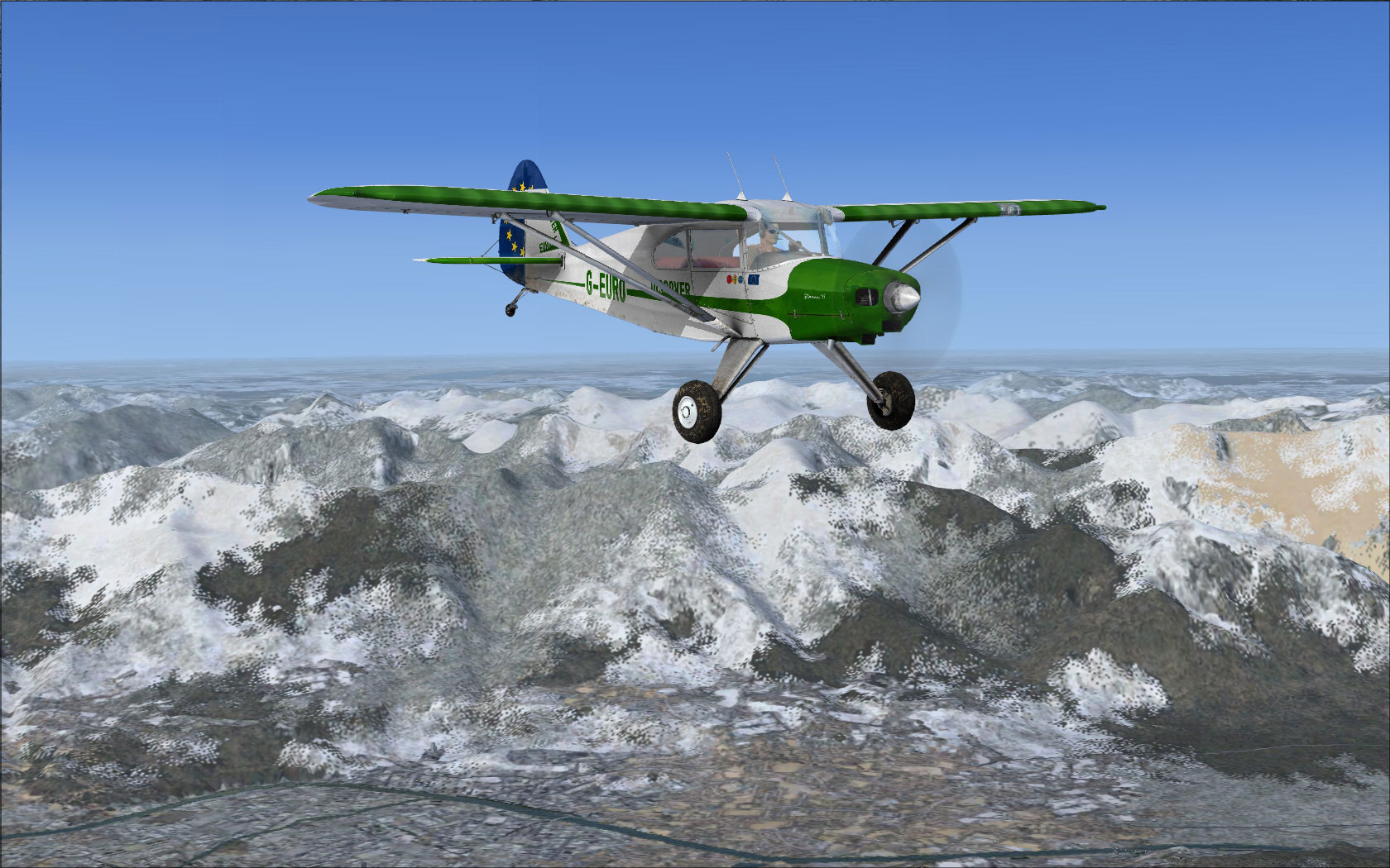 Discover: Europe (Piper Pacer) for FSX/FS2004