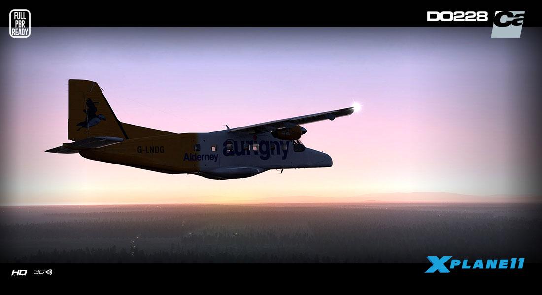 Dornier Do 228-100 HD Series for X-Plane 11