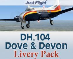 DH.104 Dove & Devon Livery Pack