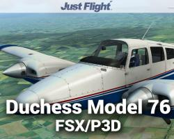 Duchess Model 76 for FSX/P3D