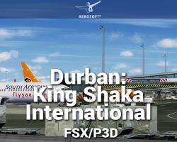 FSDG - Durban: King Shaka International Airport Scenery