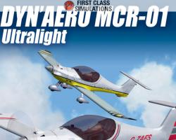 Dyn'Aero MCR-01 Ultralight for FSX/FS2004
