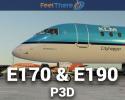 Embraer E-Jets E170 & E190 V3 for P3D