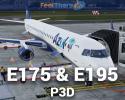 Embraer E-Jets E175 & E195 V3 for P3D