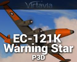 Lockheed EC-121K Warning Star for P3D
