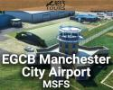 Free EGCB Manchester City Airport (Barton Airfield) Scenery for MSFS