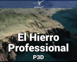 Canary Islands Professional: El Hierro Scenery for P3D