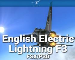 English Electric Lightning F3 X