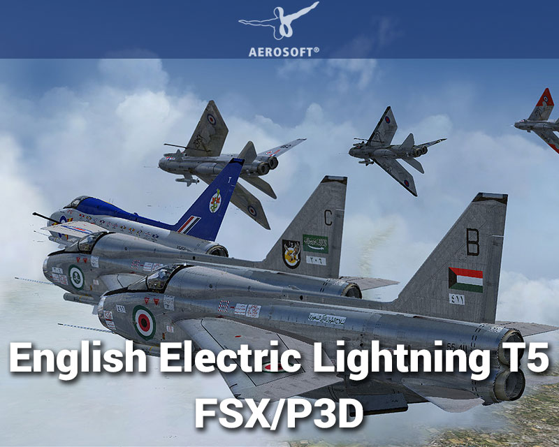 English Electric Lightning T5 for FSX/P3D