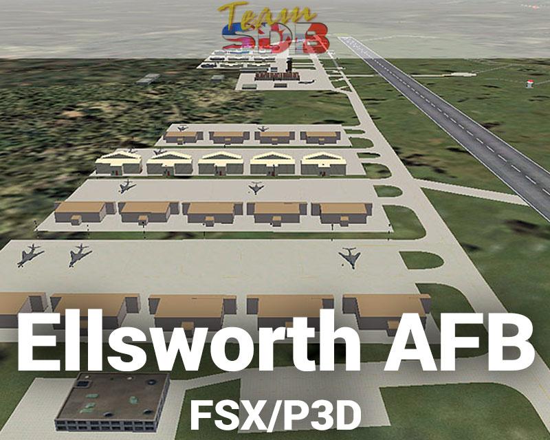 Ellsworth AFB Scenery for FSX/P3D