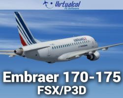 Embraer 170-175 Regional Pack for FSX/P3D