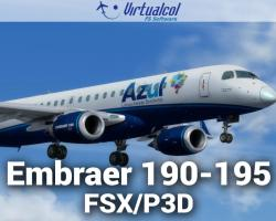 Embraer 190-195 Regional Pack for FSX/P3D