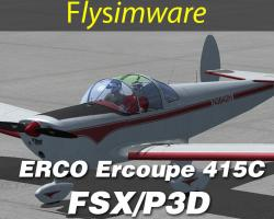ERCO Ercoupe 415C for FSX/P3D
