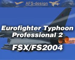 Eurofighter Typhoon Professional 2 for FSX/FS2004