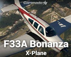 Beechcraft F33A Bonanza for X-Plane