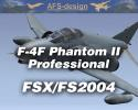 AFS-Design F-4F Phantom II Professional for FSX/FS2004