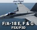 DC Designs F/A-18 E, F & G Super Hornet for FSX/P3D