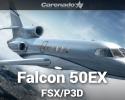 Dassault Falcon 50EX for FSX/P3D