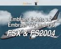 feelthere Embraer E-Jets v.2 Embraer 175 and 195 for FSX & FS2004