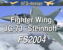 "AFS Fighter Wing JG-73 ""Steinhoff"" for FS2004"