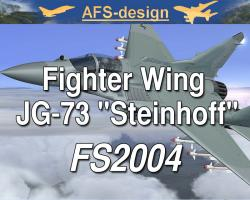 "Fighter Wing JG-73 ""Steinhoff"" for FS2004"