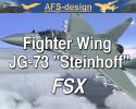 "AFS Fighter Wing JG-73 ""Steinhoff"" for FSX"