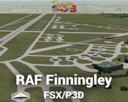 RAF Finningley Scenery