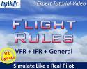 Flight Rules: VFR, IFR & General Tutorial Video