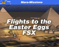 Flights to the Easter Eggs for FSX