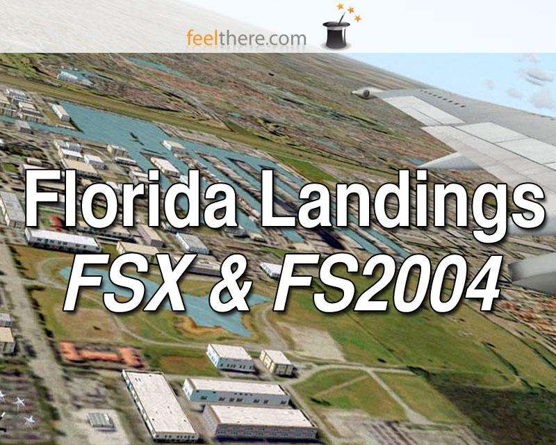 Florida Landings Scenery for FSX & FS2004