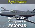 Cessna 441 Conquest II for FSX/P3D