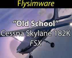"1966 ""Old School"" Cessna Skylane 182K"