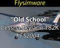 """Free 1966 """"Old School"""" Cessna Skylane 182K for FS2004"""