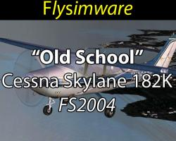 "Free 1966 ""Old School"" Cessna Skylane 182K"