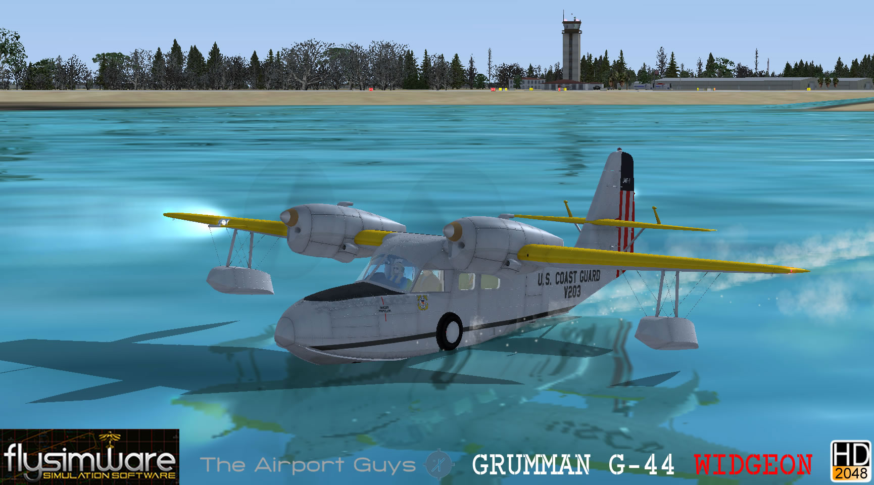 Grumman G-44A Widgeon for FSX/P3D