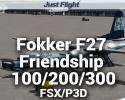Fokker F27 Friendship 100/200/300 for FSX/P3D