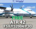 Free ATR 42 Series for FSX/P3D/FS2004