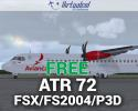 Free ATR 72 Series for FSX/P3D/FS2004