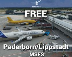 Free Paderborn Lippstadt Airport (EDLP) Scenery