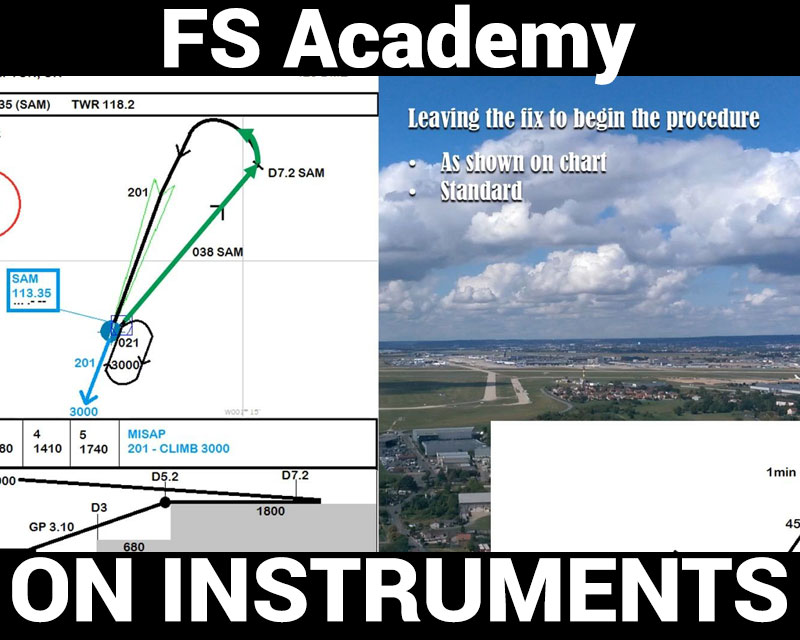 On Instruments: Tutorials & Missions for FSX