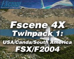 FScene 4X Twinpack #1: USA/Canada/South American